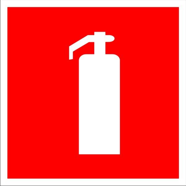 знак огнетушитель гост размеры